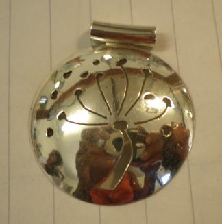 Pierced pendant